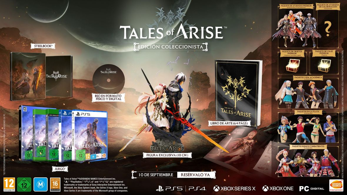 Tales of Arise disponible
